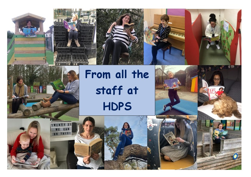 Message from the hdps staff page 2