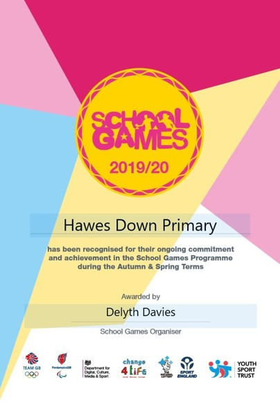 School games 2019 20 delyth davies